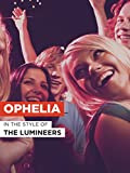Ophelia poster thumbnail