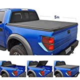 Tyger Auto T3 Tri-Fold Truck Bed Tonneau Cover TG-BC3C1039 Works with 2015-2019 Chevy Colorado/GMC Canyon | Fleetside 5' Bed