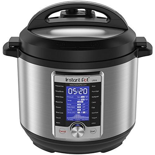 Instant Pot Ultra 6 Qt 10-in-1 Pressure Cooker
