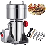 Mophorn Electric Grain 500g Mill Grinder Powder Machine 2300W 50-300 Mesh Food Grade 25000RPM Stainless Steel for Kitchen Herb Spice Pepper Coffee