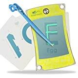 Boogie Board New Writing Drawing Tracing Flash Cards : Clear View Tablet with Kids Stylus Pen for Learning to Draw, Write Letters, Trace, Sketch, Play