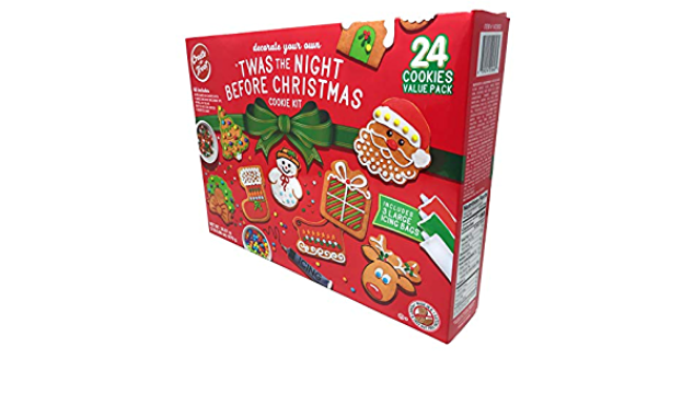 Amazon.com : Create-A-Treat Gingerbread Cookie Decorating Kit Value Pack, 24 Cookies, 38.07 oz. : Grocery & Gourmet Food
