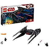 LEGO Star Wars Episode VIII Kylo Ren's Tie Fighter 75179 Building Kit (630 Piece)