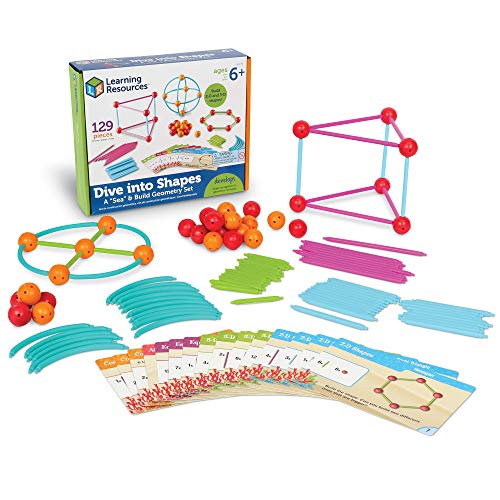 Dive Into Shapes!  A 'Sea' And Build Geometry Set
