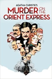 Murder on the Orient Express by Agatha Christie Book Cover