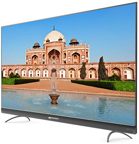 Micromax 124 cm (49 inches) 4K UHD LED Certified Android TV 49TA7000UHD (Matte Grey) 10