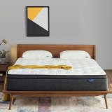 Sweetnight Queen Mattress in a Box - 12 Inch Plush Pillow Top Hybrid Mattress, Gel Memory Foam for Sleep Cool, Motion Isolating Individually Wrapped Coils, CertiPUR-US Certified, Queen Size