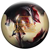 MICHELIN Storm The Lock Bowling Ball, Black/White/Crimson, 16 lb