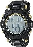 Armitron Adventure Men's AD/1010BLK Digital Multi-Function Black Textured Resin Strap Sport Watch
