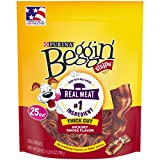 Purina Beggin' Thick Cut Hickory Smoked Flavor Dog Snacks - (1) 25 oz. Pouch