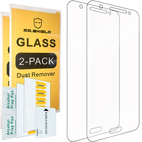 Mr Shield Tempered Glass Screen Protector for Samsung Galaxy J7 (2015 Version)[Will Not Fit for Galaxy S7] - 2-Pack