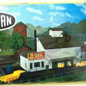 Unbekannt N Gauge Building Kit Grain Mill 51KQCSetUCL