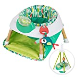 Evenflo Exersaucer Tiny Tropics 2-in-1 Baby Seat and Door Jumper