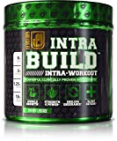 INTRABUILD Premium BCAA Intra Workout Supplement with Clinically Dosed L-Citrulline, Betaine, Beta-Alanine, & More - Boost Muscle Growth, Strength, Endurance, & Recovery - Cherry Lime, Net wt. 13.4 oz, 20 servings