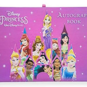WDW Park Walt Disney World Disney Princess Autograph Book Disney Parks