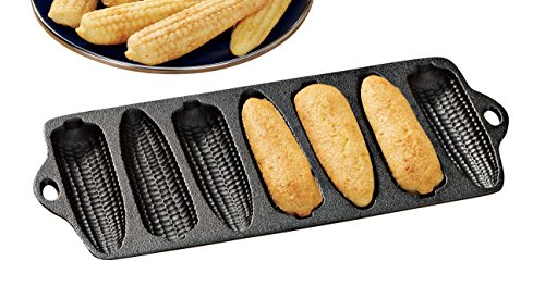 Cast-Iron Corn Bread Pan - Corn Cobs