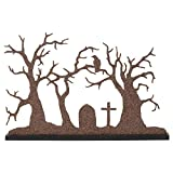 Department 56 Village Collections Accessories Halloween Silhouette Tree Figurine, 10.24'