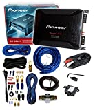 Pioneer GM-D8601 4 Gauge 1600W Monoblock Class-D Car Amplifier + Amplifier Wiring Kit**