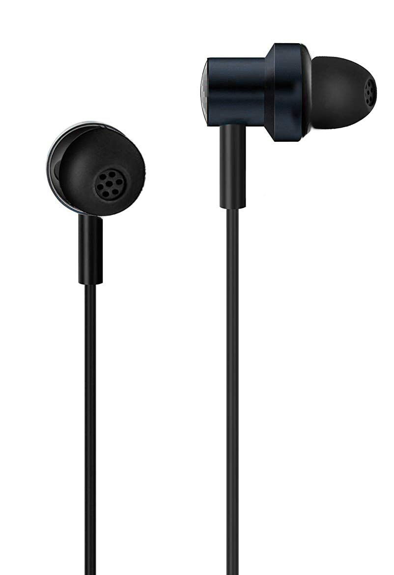 Alakazam Ultima 4D Dual Driver in-Ear Wired Headphones with Mic Black/White
