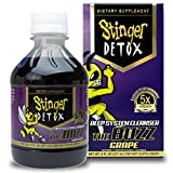 Stinger Detox The Buzz 5X Strength Grape 8 Fl oz