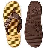 Mio Marino Mens Flip Flops - Beach Comfortable Thong Flip Flops for Men - with Memory Foam