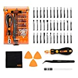 Screwdriver Set Precision Screwdriver Kit JAKEMY 36 Magnetic Driver Bits Repair Tool Kit Opening Tool and Tweezer for iphone Cellphone PC Electronics