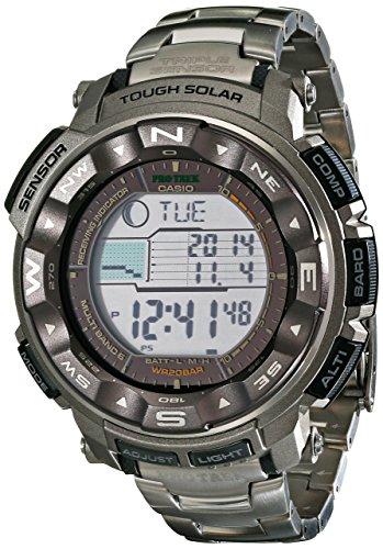 Casio Men's Pro Trek PRW-2500T-7CR Tough Solar Digital Sport Watch