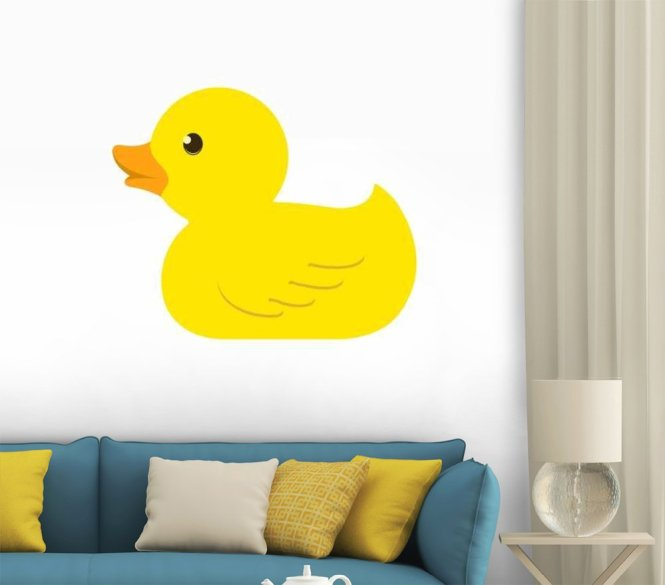 Rubber Ducky Wall Stickers - The Best Duck 2018