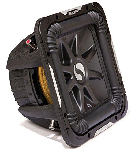 Kicker S10L7 Car Audio Solobaric L7 Square 10' Sub Dual 2 Ohm 1200W 11S10L72 Subwoofer L7S10