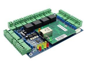 TCPIP-4-Door-Entry-Access-Control-Panel-Kit-Electric-Strike-Fail-Secure-NO-Mode-Lock-Enroll-RFID-USB-Reader-110-240V-Power-Supply-Box-RFID-Reader-Phone-APP-remotely-Open-Door