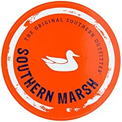 Southern Marsh Sticker-orange