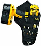 CLC 5023 Deluxe Cordless Poly Drill Holster, Black