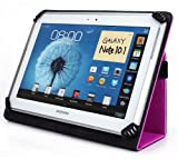 iNOVA EX756 7 Inch Tablet Case, UniGrip Edition - HOT PINK - By Cush Cases