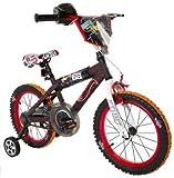 Hot Wheels Dynacraft Boys BMX Street/Dirt Bike with Hand Brake 16'' Black/Red/Orange