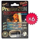 *Best Seller* PremierZEN Black 5000 Male Performance Enhancement Pill 100% Authentic. (6)