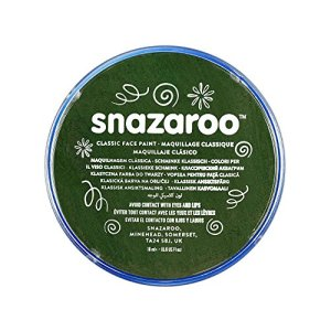 Snazaroo Face and Body Paint, 18 ml – Dark Green (Individual Colour) 51KvalcaFcL