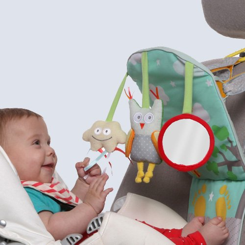 Taf Toys Play & Kick Car Seat Toy | Baby\'s Activity & Entertaining ...