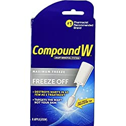 Compound W Freeze Off Wart Removal System, 8 disposable applicators