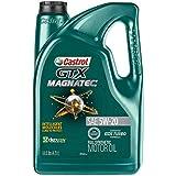 Castrol 03063 GTX MAGNATEC 5W-20 Full Synthetic Motor Oil, Green , 5 Quart
