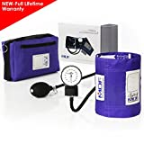 MDF Calibra Aneroid Premium Professional Sphygmomanometer - Blood Pressure Monitor with Adult Cuff & Carrying Case - Full Lifetime Warranty & Free-Parts-For-Life - Purple (MDF808M-08)