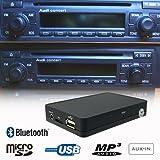 Stereo Bluetooth Handsfree A2DP USB SD AUX MP3 WMA CD Changer Adapter Interface Car Kit Audi A2 A3 A4 A6 A8 Allroad TT Chorus Concert Symphony Navigation Plus