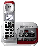 PANASONIC Amplified Cordless Phone with Digital Answering Machine - KX-TGM450S - 1 Handset (Silver)