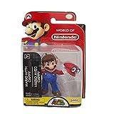 Nintendo Figura Mario con Cappy, 2.5 Pulgadas