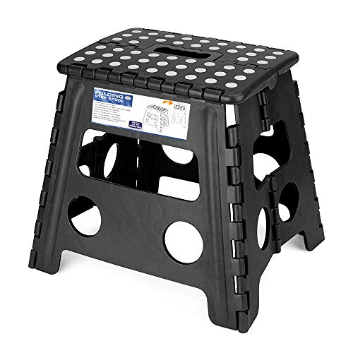 Acko Folding Step Stool - 13 inch Height Premium...