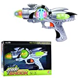 Liberty Imports Galactic Space Infinity Blaster Pistol Toy Gun for Kids with Flashing Lights & Blasting FX Sounds