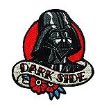 Disney Star Wars Vader Love Dark Side Patch Officially Licensed Iron On Applique