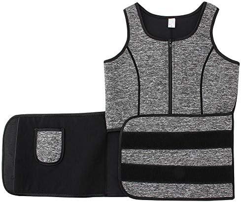 LONGTA Waist Trainer Corset Trimmer Vest for Women Weight Loss,Sauna Body Shaper 6