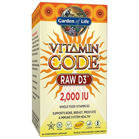 Garden-of-Life-Raw-D3-Supplement-Vitamin-Code-Whole-Food-Vitamin-D3-Dairy-and-Gluten-Free-Vegetarian-Capsules