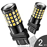 3157 3156 4057 LED Reverse Backup Bulb Extremely Bright, [2018 UPGRADED] Marsauto 52 SMD 3030/2835 Chipsets Back up Stop Tail Light Lamp Bulbs Replacement (Set of 2)