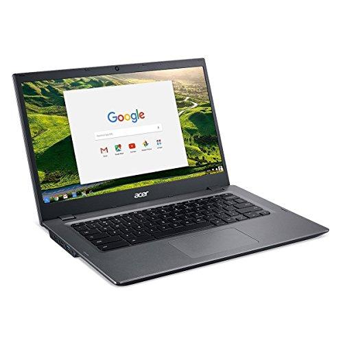 Acer Chromebook 14, Aluminum, 14-inch HD, Intel Celeron Dual core, 4GB LPDDR3 Ram, 16GB Memory, Black (14')